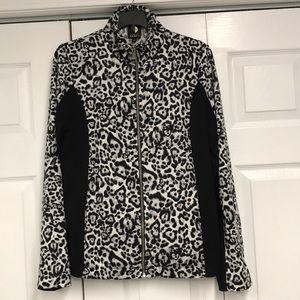 Jones New York cheetah print jacket large